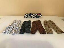 1/6 G I Joe Camouflage Pants Lot
