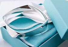 Fabulous Tiffany & Co. Frank Gehry Silver Torque Bangle Bracelet
