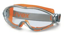 Schutzbrille UVEX Ultrasonic orange/grau 1741-350
