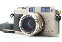 【NEAR MINT】 CONTAX G1 Green Label w/ Carl Zeiss Planar 45mm F2 Lens From JAPAN