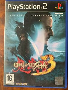 Onimusha 3 PS2 Samurai Action Game Videogame Series for Sony PlayStation 2