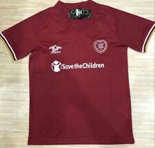 New 2020-2021 Hearts Home Soccer Jersey Short Sleeve Man Football shirt S-2XL
