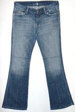7 FOR ALL MANKIND Bootcut - A Pocket - Ladies Blue Denim Jeans - W30 L32