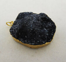 INC International Concepts  NAVY BLUE DRUZY  Stone Charm Msrp $34.50 **NEW **
