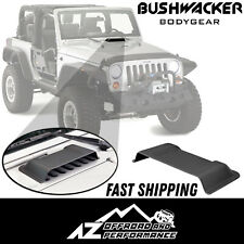 Bushwacker Air Scoop Trail Armor 07-18 Jeep Wrangler JK JKU 15001 Smooth