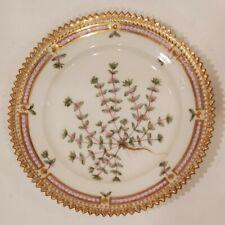 "Royal Copenhagen Flora Danica Serrated Antique Plate 5.5"" Illecebrum"