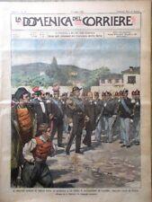La Domenica del Corriere 9 Luglio 1899 Giorgio Grecia Briganti Sardegna Ravenna