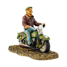 Department 56 Halloween 2015 HARLEY GHOST RIDER ON THE ROAD 4044886 Dept 56