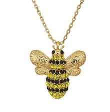 Kate Spade Picnic Perfect Bumble Bee Necklace NWT Beautiful Classical Design