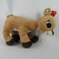 Clarice Rudolph the Red Nose Reindeer 2008 Plush Stuffed 12""