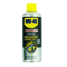 WD-40 MOTO GRAISSE LUBRIFICATION CHAINE MOTO SPECIAL CONDITIONS HUMIDES 400 ML