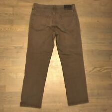 Liverpool Relaxed Straight Leg Stretch Denim Jeans Brown Men's Size 32