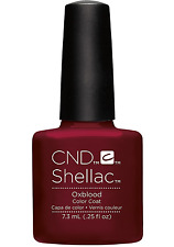 CND Shellac Gel Polish Oxblood - .25 fl oz - C91250