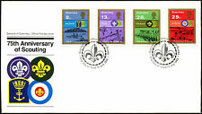 Guernsey 1982 75th Anniv Of Scouting FDC First Day Cover #C41890