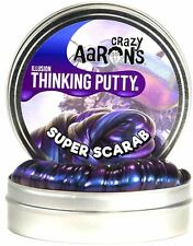 SUPER SCARAB Super illusions Crazy Thinking Putty Large 4 inch 3.2oz, Aaron's