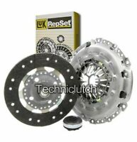 LUK 3 PART CLUTCH KIT FOR PEUGEOT EXPERT PLATFORM/CHASSIS 2.0 HDI 140