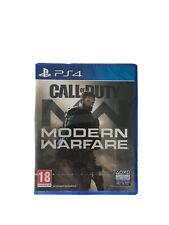 Call of Duty: Modern Warfare (PlayStation 4, 2019)