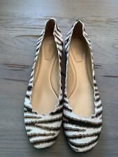 Chloe Lauren Zebra Ballerinas Slippers Low Shoes Shoes Shoes Flats Loafers 38
