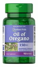OIL OREGANO EXTRACT 150 MG 90 SOFTGELS  PURITANS PRIDE (555)