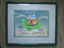 The Jetsons SIGNED ORIGINAL HAND PAINTED LIMITED EDITION Art Cell Hanna Barbera