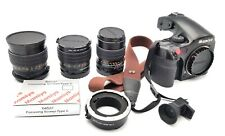 Amazing set of Mamiya AFD + Sekor 45mm f2.8 + 80mm f1.9 +150mm f3.5 + EXTRAS AA+