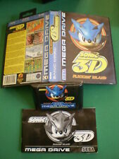 SEGA MEGADRIVE SONIC 3D Complet Boxed Manual PAL