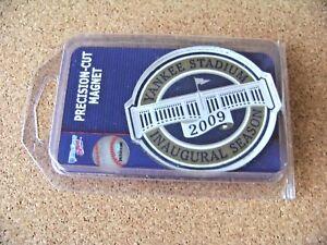 2009 NY New York Yankees Yankee Stadium Inaugural Season logo acrylic magnet