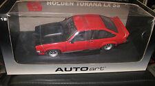 BIANTE AUTOart 1.18 HOLDEN LX SS TORANA A9X HATCHBACK FLAMENCO RED #73452