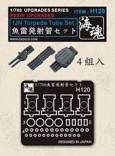 OceanSprite H120 1/700 IJN Torpede Tube Set ( 4 Pieces )