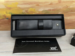 MONTBLANC Meisterstuck Siena 1-Pen Black Leather Case