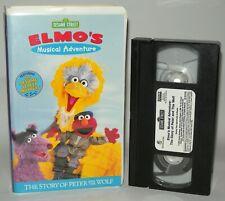 Elmos Musical Adventure - Sesame Street - VHS Classic - NTSC - Peter & The Wolf