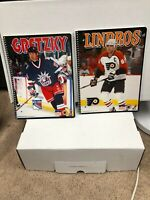 """WAYNE GRETZKY LINDROS  9"""" x 12"""" Starline Folder's NEW  IN THE ORIGINAL PACK  6"""