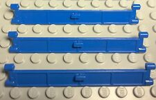 Lego New Lot Of City Blue Garage Door Roller With Handle Part X3 Pc.