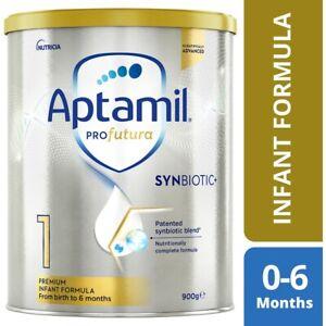 Aptamil Profutura 1 Premium Baby Infant Formula from Birth to 6 Months 900g