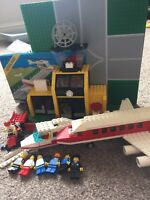 Vintage Lego Town Airport 6392, rare