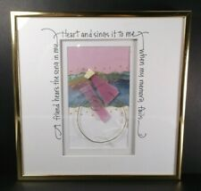 ORIGINAL ART Mixed Media FRIENDSHIP  'A Friend Hears the Song in my Heart...'