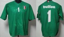 MONDO REPLICA ITALIA NAZIONALE ITALIANA MAGLIA BUFFON 1 EUROPEI 2008TG. XL