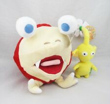 "10"" Bulborb Chappy Pikmin and Yellow Flower Set Plush Adorable Doll Set of 2"
