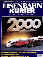 Eisenbahn Kurier n°1 2000 - Historischer Verkehr - Ruckblick und Zukunft-  Tr.21