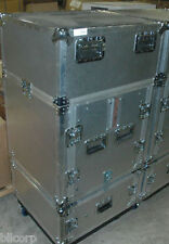 """1 (one) ARMANDO ROAD CASE 19"""" RACKMOUNT ROLLERS NEW"""