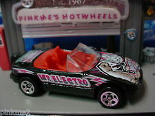 2003 Gift Pack ∞MAZDA MX-5 MIATA∞BLACK∞MUNDO LUCHA;Electro∞LOOSE Hot Wheels