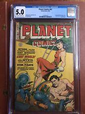 Planet Comics 62 CGC 5.0 OW/W Fiction House Doolin GGA SWEET