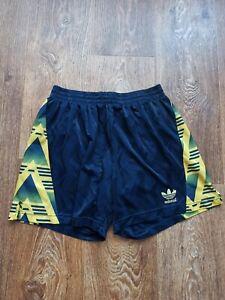 1991-93 Arsenal Style Football Short Yellow Bruised Banana Size L