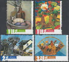 Poland 2002 - Four seasons in painting - Fi 3815-3818 MNH**