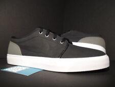 2013 Nike Blazer Bruin TOKI LOW LEATHER PREMIUM BLACK FLAT PEWTER GREY WHITE 12