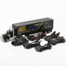 7pcs  Batman Batmobile & Truck Car Model Toy Vehicle Metal Diecast Kid Gift