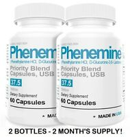 2CT Slimming Phenemine Weight Diet Pills Suppres Appetite Suppressant 37.5 P 375