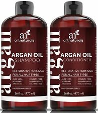 Art Naturals Organic Moroccan Argan Oil Shampoo and Conditioner Set (2 x 16 O...