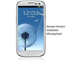 Samsung galaxy S3 (Unlocked) White Smart Phone - Korean Version - PLEAES READ!