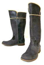 Timberland 25668 Shoreham Tall Women's 10 Knee High Fold-Down Boot Blue/Gray